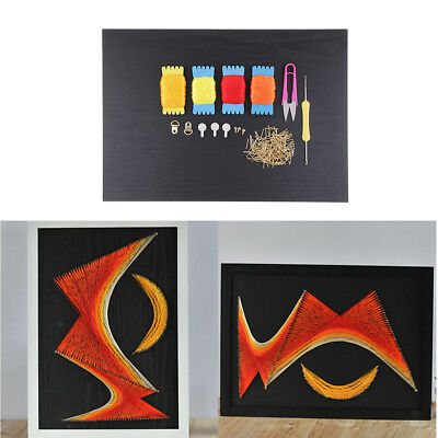 30x40cm Sunset DIY String Art Starter Kits with Materials Christmas Gifts