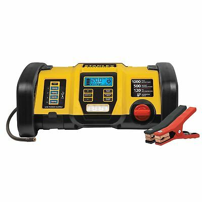 3 in 1 STANLEY Portable Power Station Jump Starter, Power Bank & Air Compressor