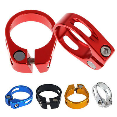 31.8mm/34.9mm MTB Bicycle Cycling Saddle Bicycle Seat Post Clamp Aluminum Alloy