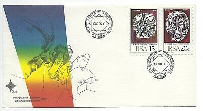 SOUTH AFRICA 1980 FIRST DAY COVER – World Diamond Congresses