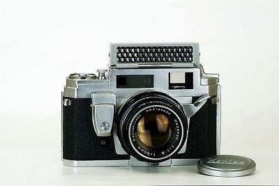 """KONICA III-M  """"MOST INNOVATIVE"""" 1950's Fixed Lens"""" 35mm Rangefinder Cameras"""