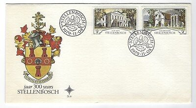 SOUTH AFRICA 1979 FIRST DAY COVER – 1979 Stellenbosch 300 years