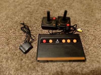 ATARI FLASHBACK 4 CLASSIC GAME CONSOLE 75 BUILT IN GAMES video game system