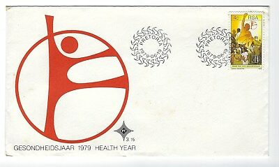 SOUTH AFRICA 1979 FIRST DAY COVER - 1979 Health Year
