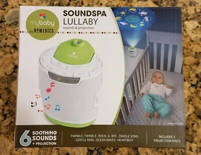 Homedics Mybaby Soundspa Lullaby Sounds And Projection  6 Sounds 3 Projections