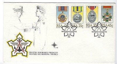 SOUTH AFRICA 1984 FIRST DAY COVER - Military Decorations