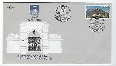 SOUTH AFRICA 1979 FIRST DAY COVER - 1979 University of Cape Town