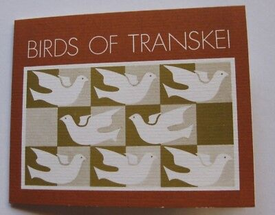 SOUTH AFRICA 1980 FIRST DAY of ISSUE - Transkei Birds in Folder