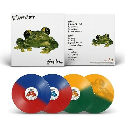 Silverchair Frogstomp 2018 issue 180gm COLOURED vinyl 2 LP g/f NEW/SEALED
