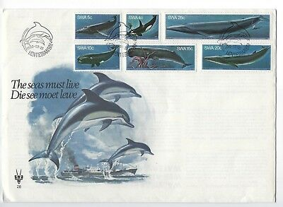 SOUTH AFRICA 1980 FIRST DAY COVER – The Seas must Live