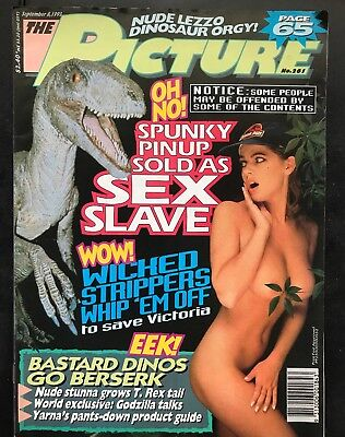 THE PICTURE MENS MAGAZINE NO.261 September 8, 1993
