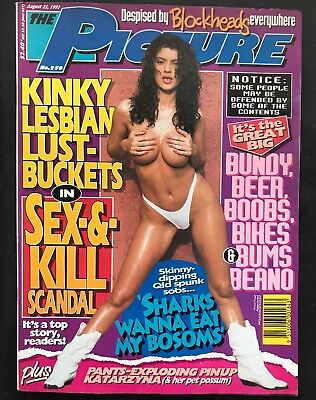 THE PICTURE MENS MAGAZINE NO.258 August 25, 1993