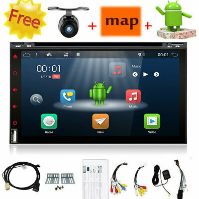 Doppel 2Din Android 8.0 Autoradio Mit Gps Navigation Bluetooth Usb Mp4 Dvd Cd Sd
