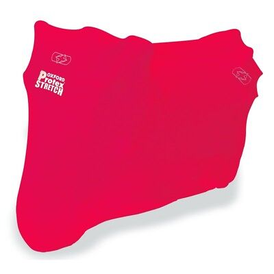 Protex stretch indoor motorcycle cover - colour RED - Size XL OXFORD Motorcycle