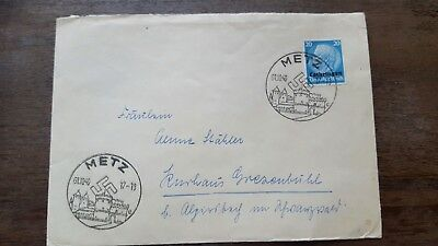 Stamps Cover Germany Reich Postal History Nice Lot Gh/13