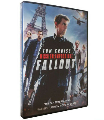 Mission: Impossible - Fallout (DVD) 2018 - Fast Free US Shipping