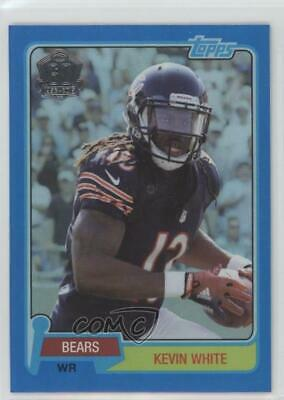 2015 Topps 60th Anniversary Wal-Mart Blue Foil #T60-KW Kevin White Chicago Bears