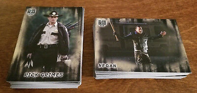 2018 The Walking Dead Hunters And Hunted COMPLETE BASE SET #1 - 100 Komplett