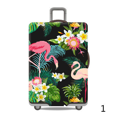 "Women Men Luggage Cover Elastic Dustproof Flower 18""-32""Suitcase Cover Protector"