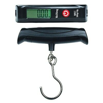 50kg / 110 lb x 10g Digital Travel luggage / Hanging Scale with Large Steel Hook