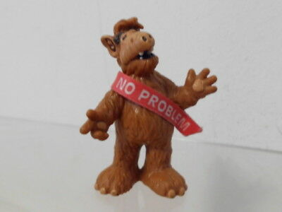 "Alf Bully 1988 West Germany TV Kult Figur mit Banderole ""No problem"""