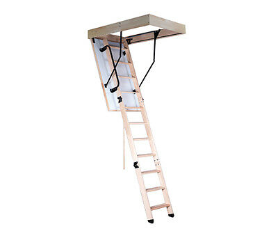 Thermal Loft Ladder Stairs 120x60 with including Handrail 60x120