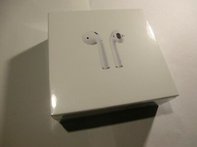 Apple AirPods New White Wireless Bluetooth Headsets Genuine In-Ear  MMEF2AM/A