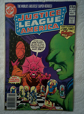 "Justice League Of America #178 ""Chess Master Of Mars"" May 1980 DC Comics"