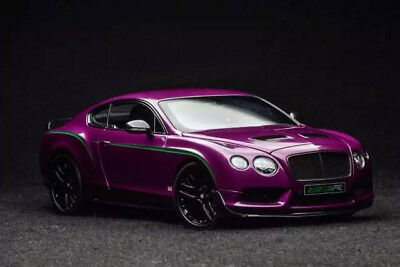 Almost Real Bentley Continental GT3-R 2015 Magenta 1/18. Read description