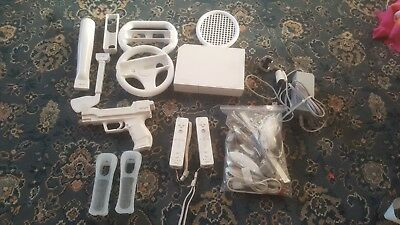 Nintendo Wii & Accessory Bundle (equipment parts, controllers, accessories)