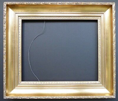 """Antique gilded reproduction frame for 13"""" by 16"""""""