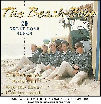 The Beach Boys The Very Best 20 Greatest Hits Collection RARE CD - 60's Surfing