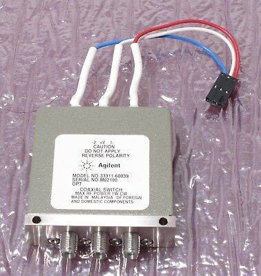 Agilent 33311-60039 RF Coaxial Switch