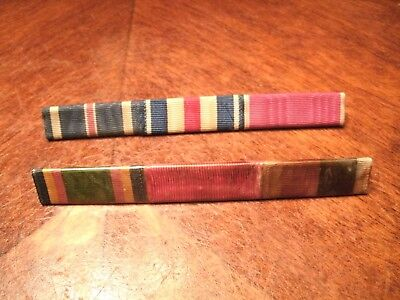 2 Sets Of Different Army Ribbons