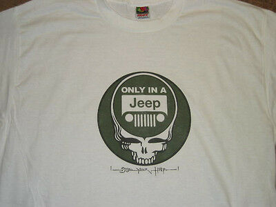 JEEP Grateful Dead T-SHIRT Steal Your Heep Jerry Garcia Phil Lesh Weir & Company