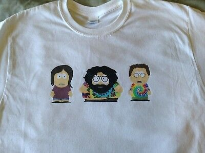 Grateful Dead as South Park Characters T-shirt Jerry Garcia Phil Lesh Bob Weir