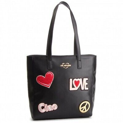 e2facebfe1 BORSA SHOPPER DONNA Love Moschino In Ecopelle Nero Bs19Mo09 - EUR ...