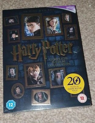Harry Potter - The Complete 8 Film Collection (16 Disc DVD Set) Movies 1 - 8 New