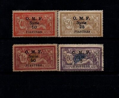 Very Old Stamps from French Forces In Syria. 2.
