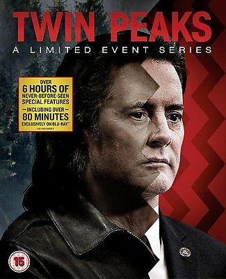 Twin Peaks - A Limited Event Series (Blu-ray, 8 Discs, Region Free) *NEW/SEALED*