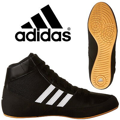 adidas Havoc Kids Boxing Boots Boys Wrestling Trainers Sneakers CLEARANCE SALE