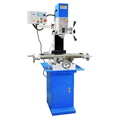 PM-727-V VERTICAL BENCH TOP MILLING MACHINE w/STAND VARIABLE SPEED FREE SHIPPING
