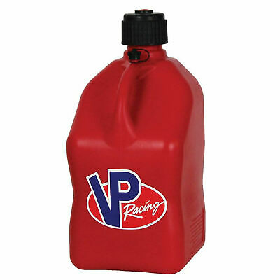 VP Racing 5 Gallon Motorsport Racing Fuel Container Utility Jug Gas Can, Red