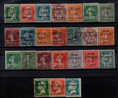 Very Old Stamps from French Syria. 1.