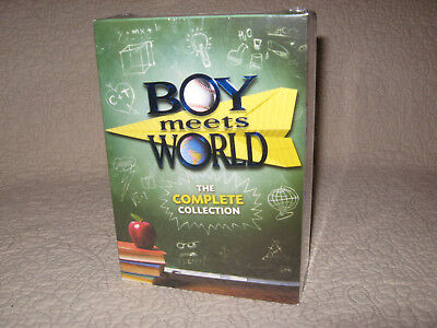 Boy Meets World The Complete Series 1-7,brand New,22 Disc Dvd Set
