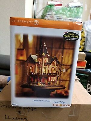 Dept 56 Snow Village Halloween Victorian House