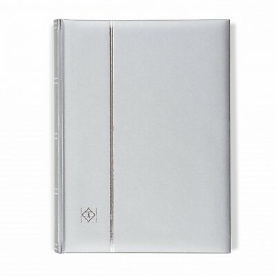 hiplatelics exclusive - Lighthouse 358056 Silver COMFORT Stockbook A4/64 Pages