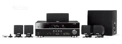 Impianto home theater Yamaha HTR-3063 dolby sorround 250W Amplificatore 5.1 cass