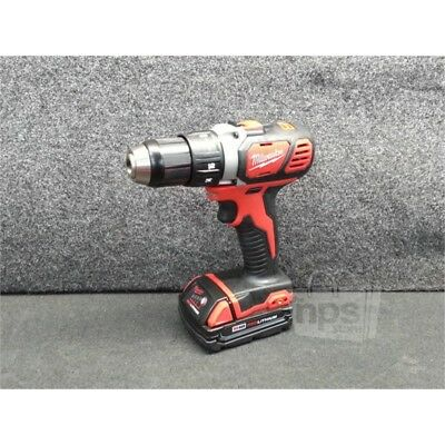 """Milwaukee 2606-22CTP M18 Cordless 1/2"""" Drill/Driver Kit, 1800 RPM, 500 in-lbs*"""