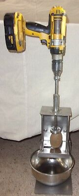 ribbon fry cutter commercial stainless steel, battery drill, electric concession
